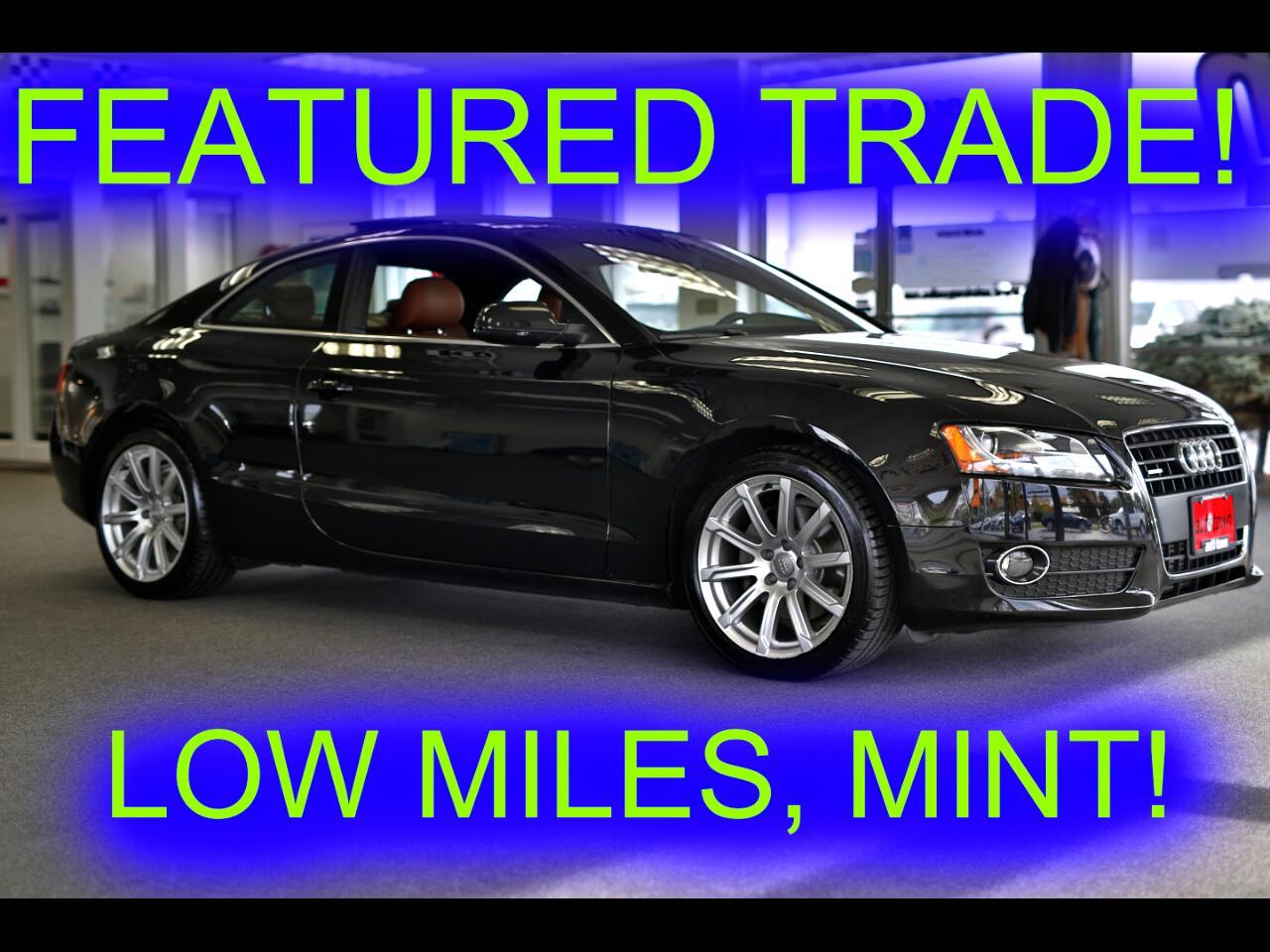 2011 Audi A5 Coupe 2.0T Quattro Premium