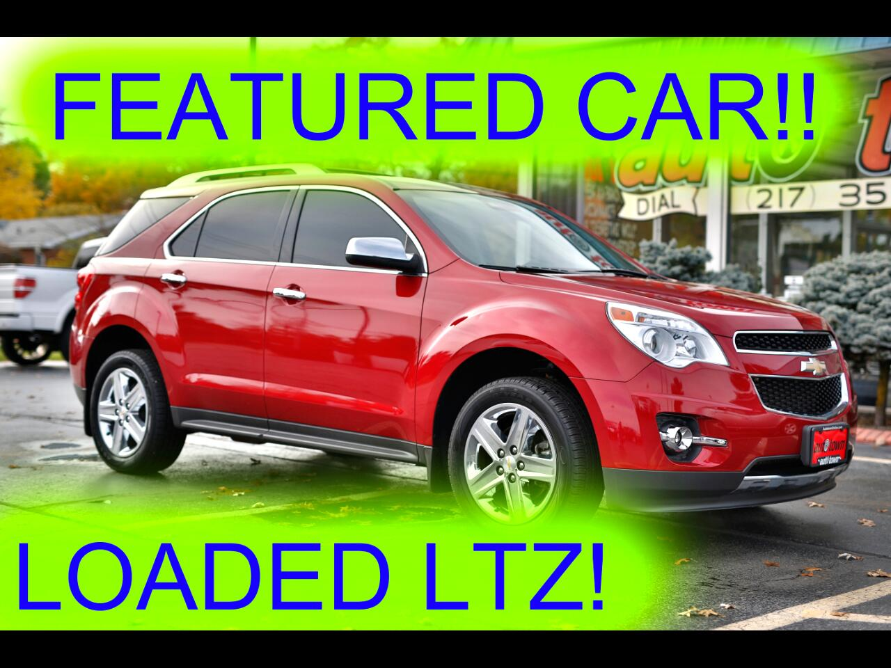 2014 Chevrolet Equinox LTZ 2WD