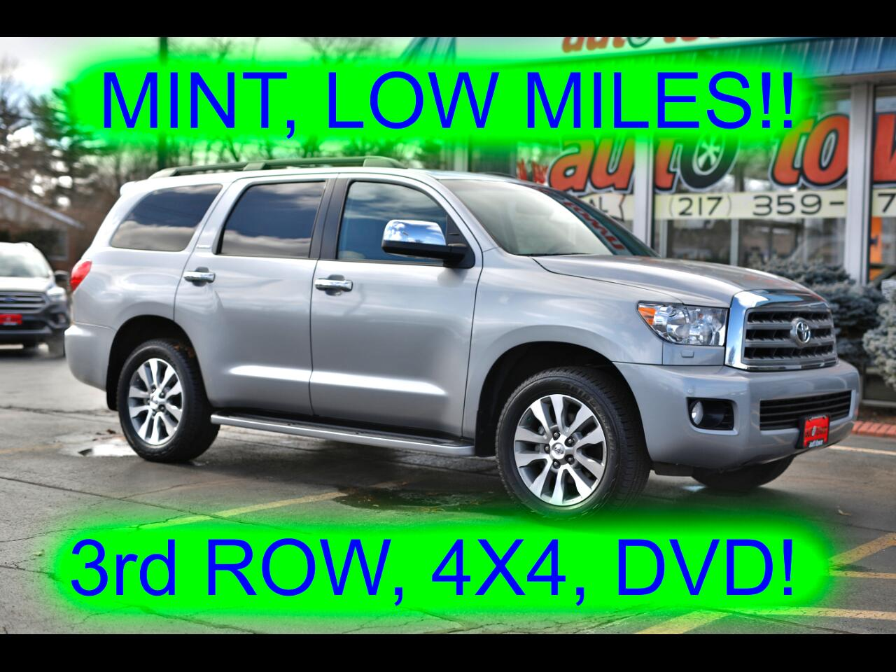 2017 Toyota Sequoia Limited 4WD FFV