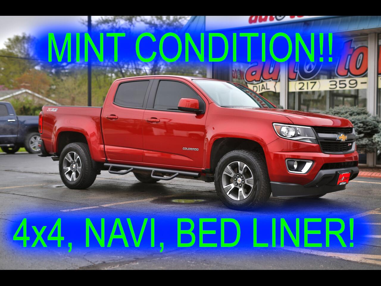 2016 Chevrolet Colorado Z71 Crew Cab 4WD Long Box