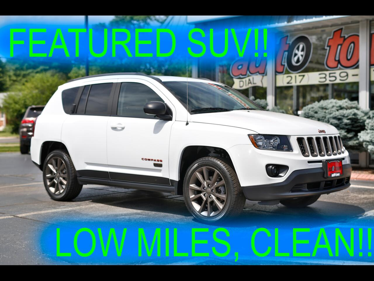 Jeep Compass FWD 4dr 75th Anniversary 2016