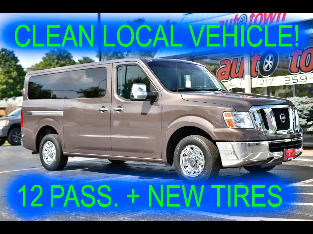 2013 Nissan NV Passenger 3500 SV V6