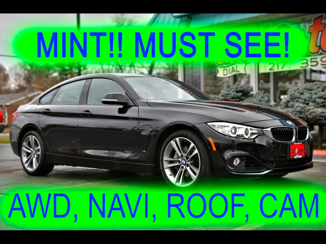 BMW 4-Series Gran Coupe 435i xDrive 2015