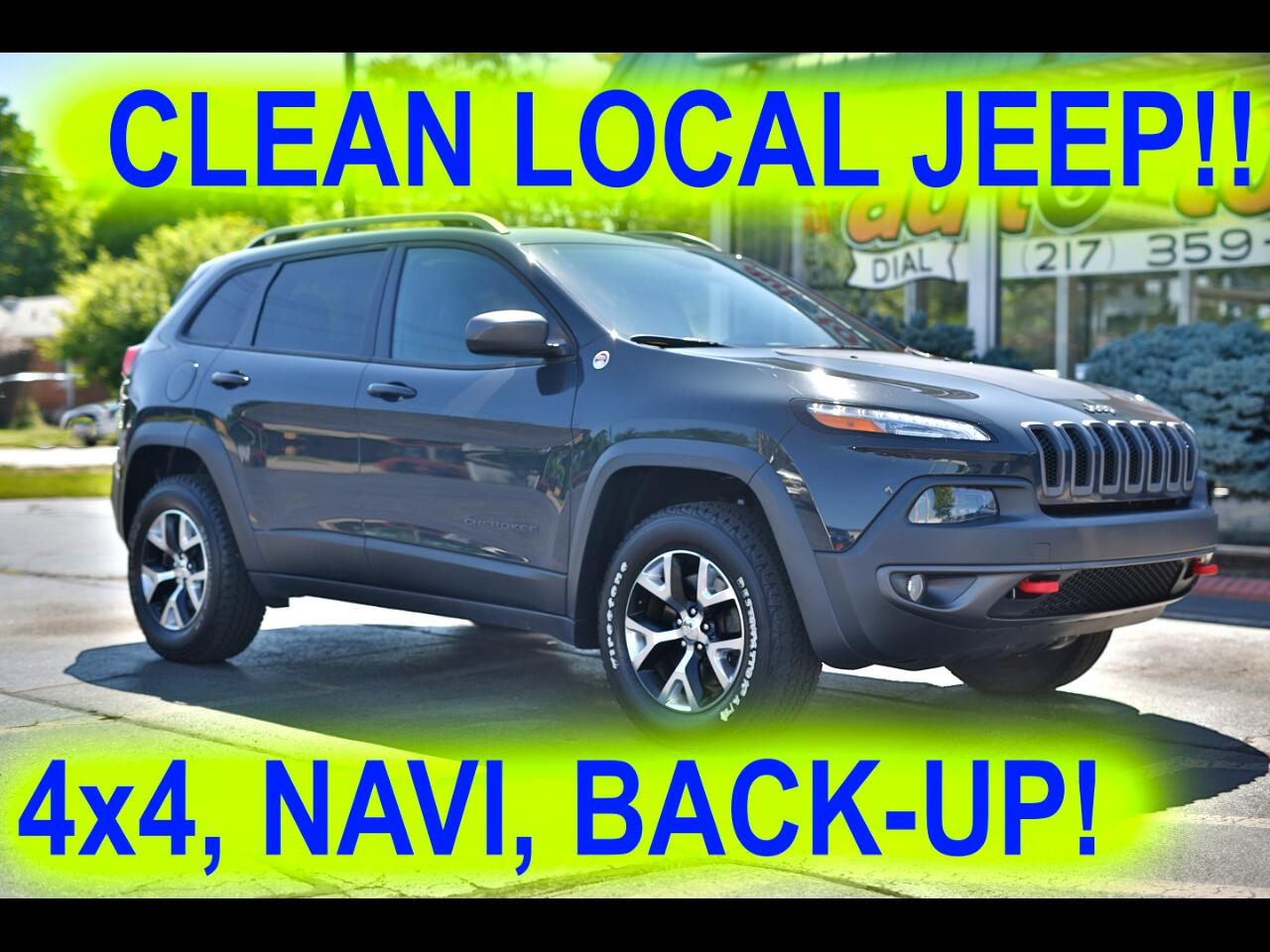 Jeep Cherokee Trailhawk 4WD 2016