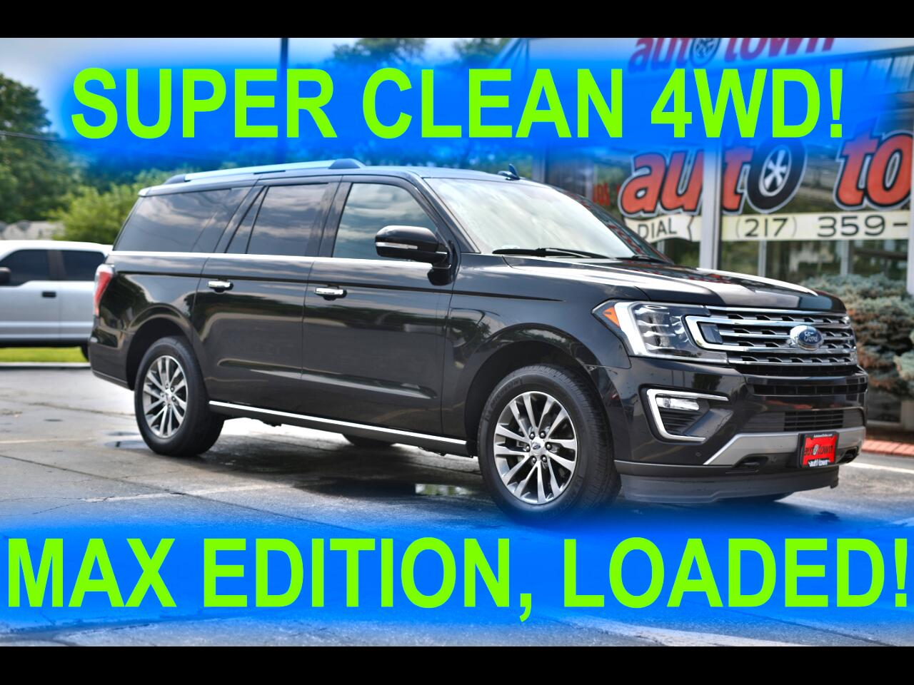 Ford Expedition MAX Limited 4WD 2018