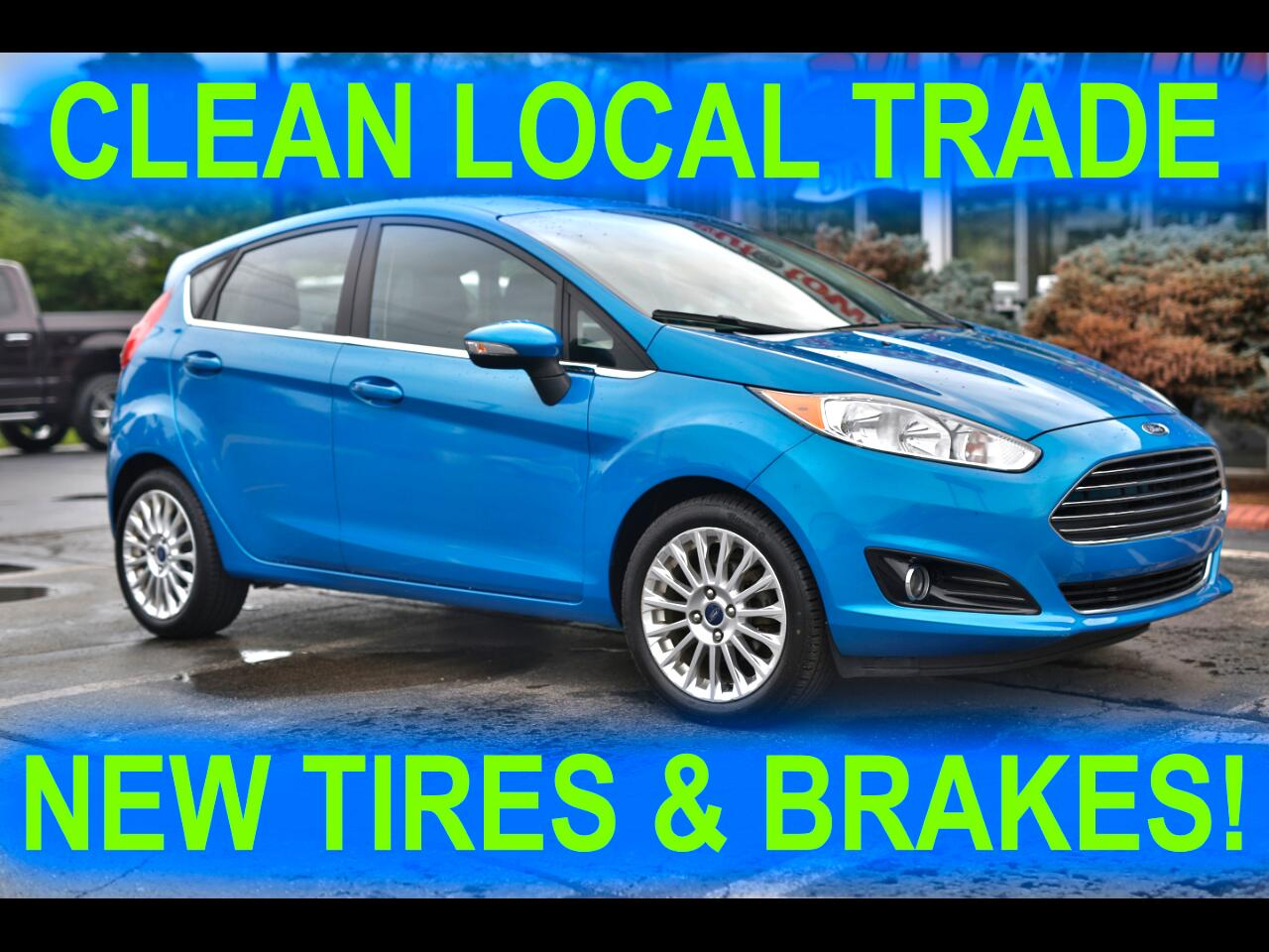 Ford Fiesta Titanium Hatchback 2014