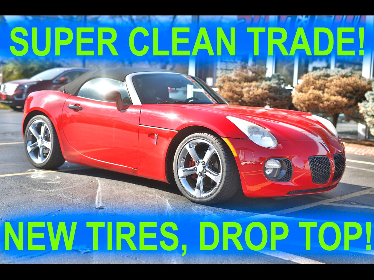 Used 2008 Pontiac Solstice Gxp For Sale In Champaign Il 61821 Autotown