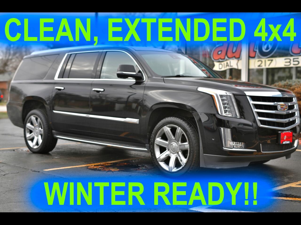 Cadillac Escalade ESV Luxury 4WD 2018