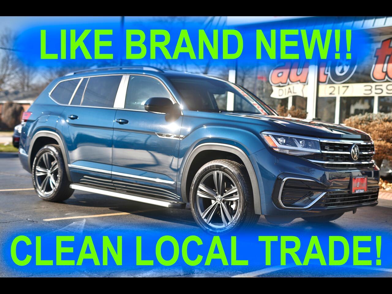 Volkswagen Atlas V6 SE w/Technology R-Line 4MOTION 2021