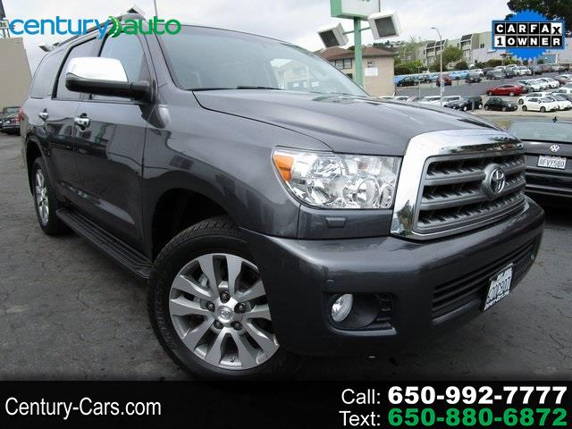 Toyota Sequoia RWD 5.7L Limited (Natl) 2013