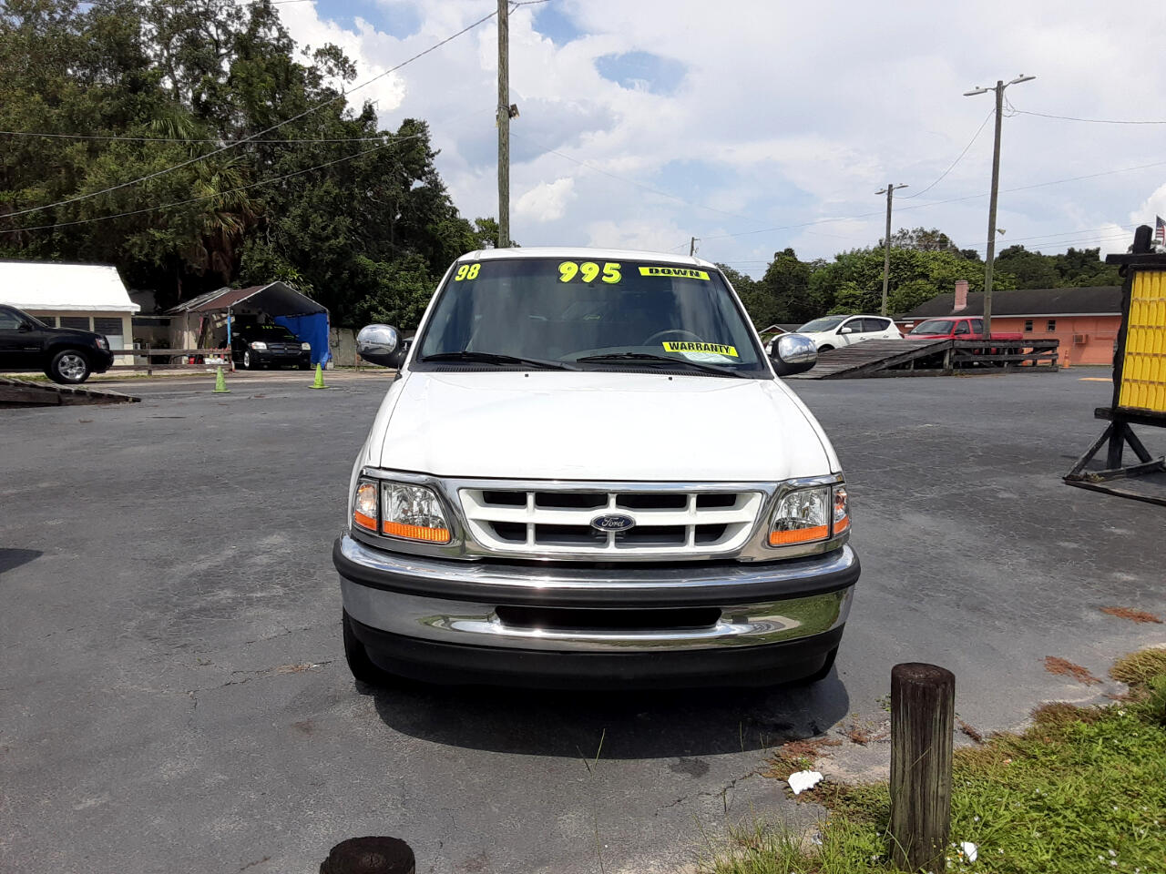 Ford F-150 Lariat SuperCab Long Bed 2WD 1998