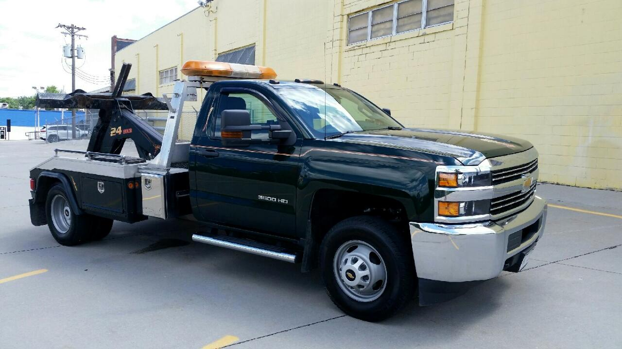Chevrolet Silverado 3500HD Work Truck Regular Cab 4WD 2015