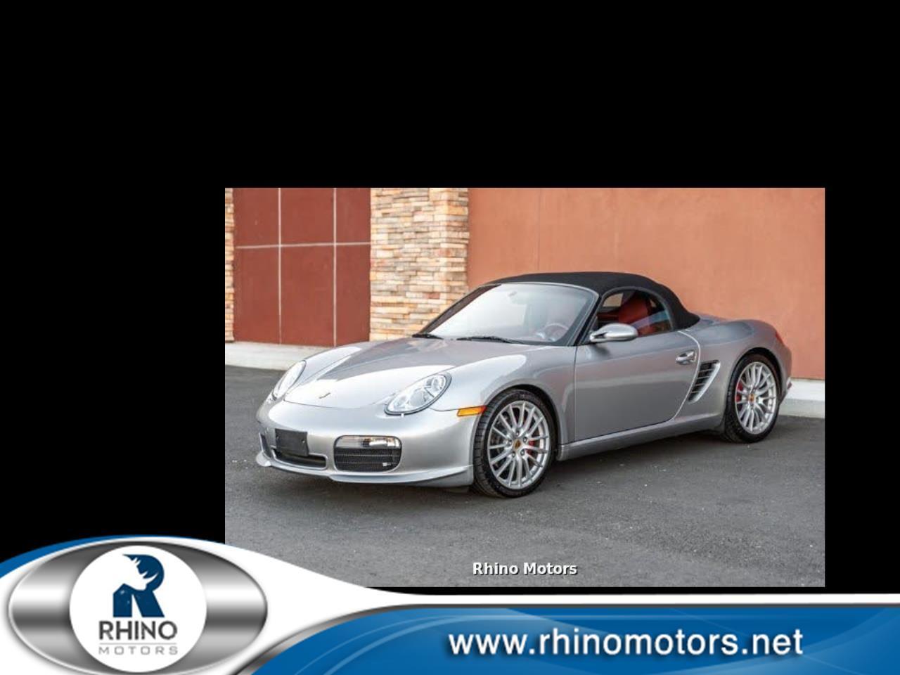 Porsche Boxster S 2008