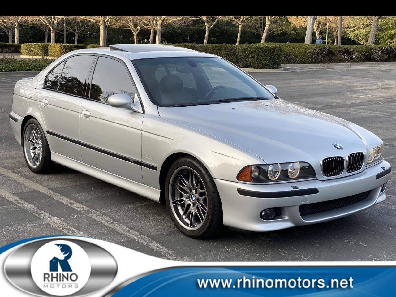 BMW 5 Series M5 4dr Sdn 6-Spd Manual 2001