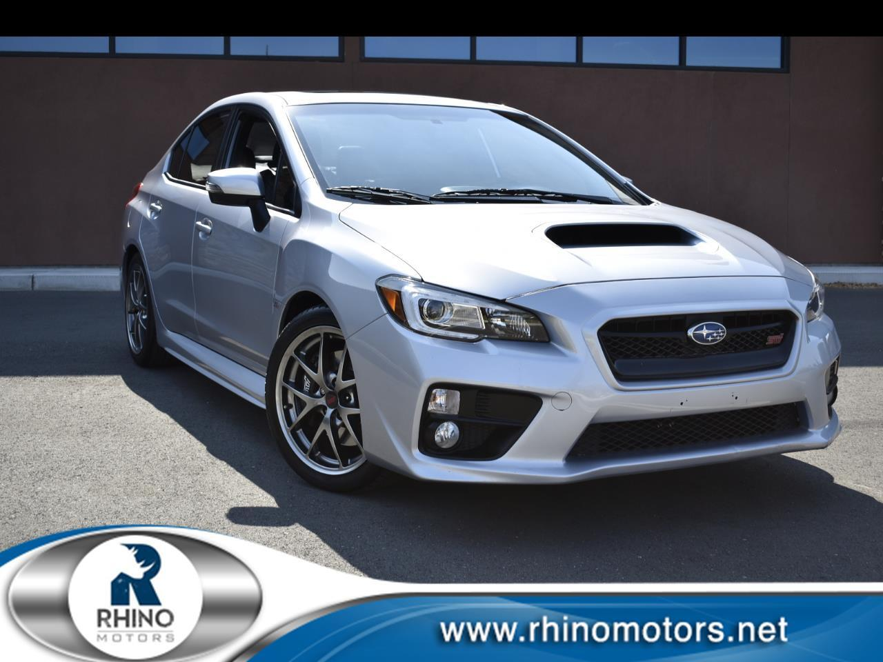 Subaru WRX STI Limited Manual w/Lip Spoiler 2017