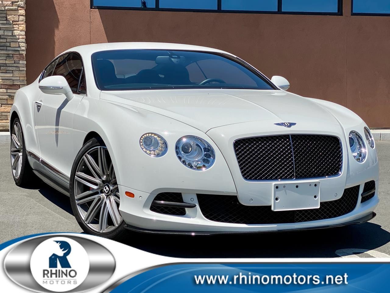 Bentley Continental GT Speed 2dr Cpe 2014