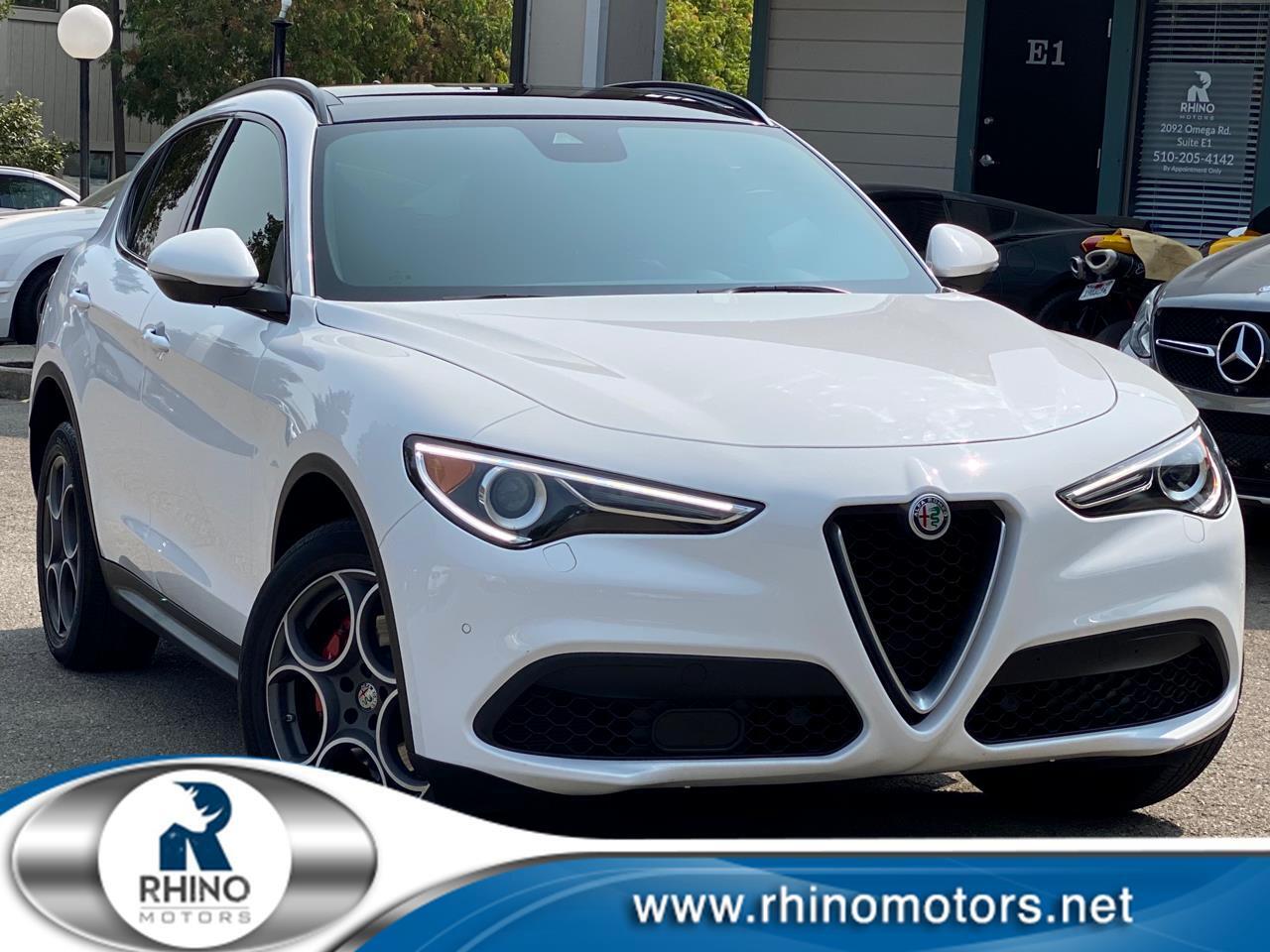 Alfa Romeo Stelvio Ti Sport AWD 2018