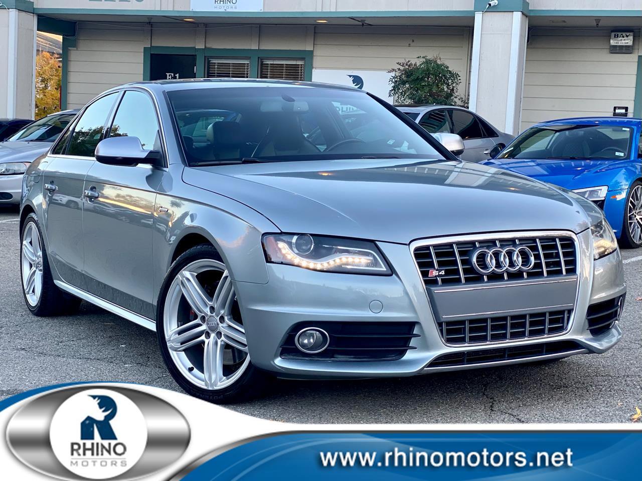 Audi S4 4dr Sdn Man Premium Plus 2011