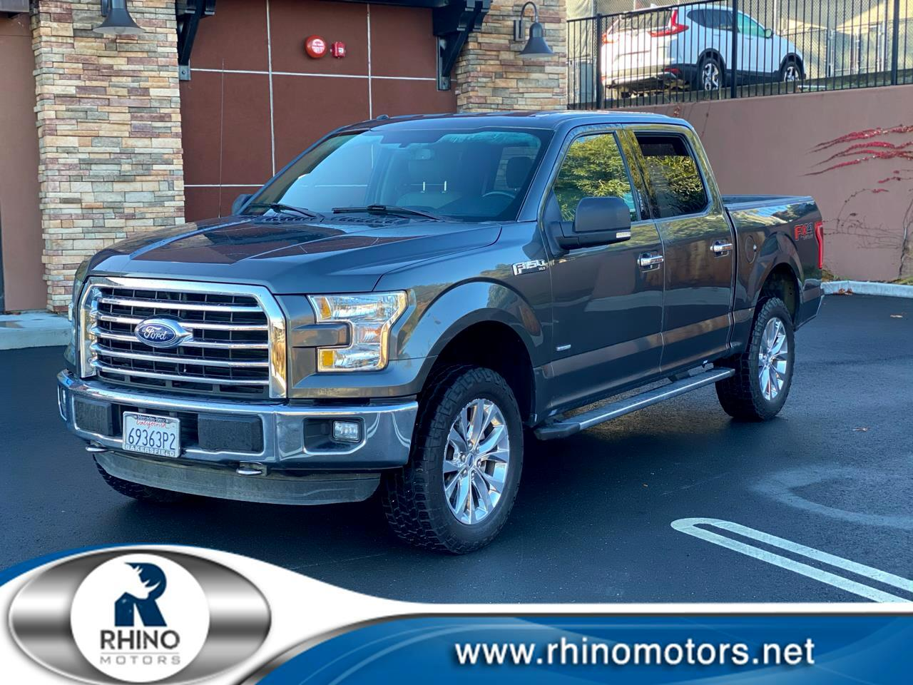 """Ford F-150 4WD SuperCab 145"""" FX4 2016"""