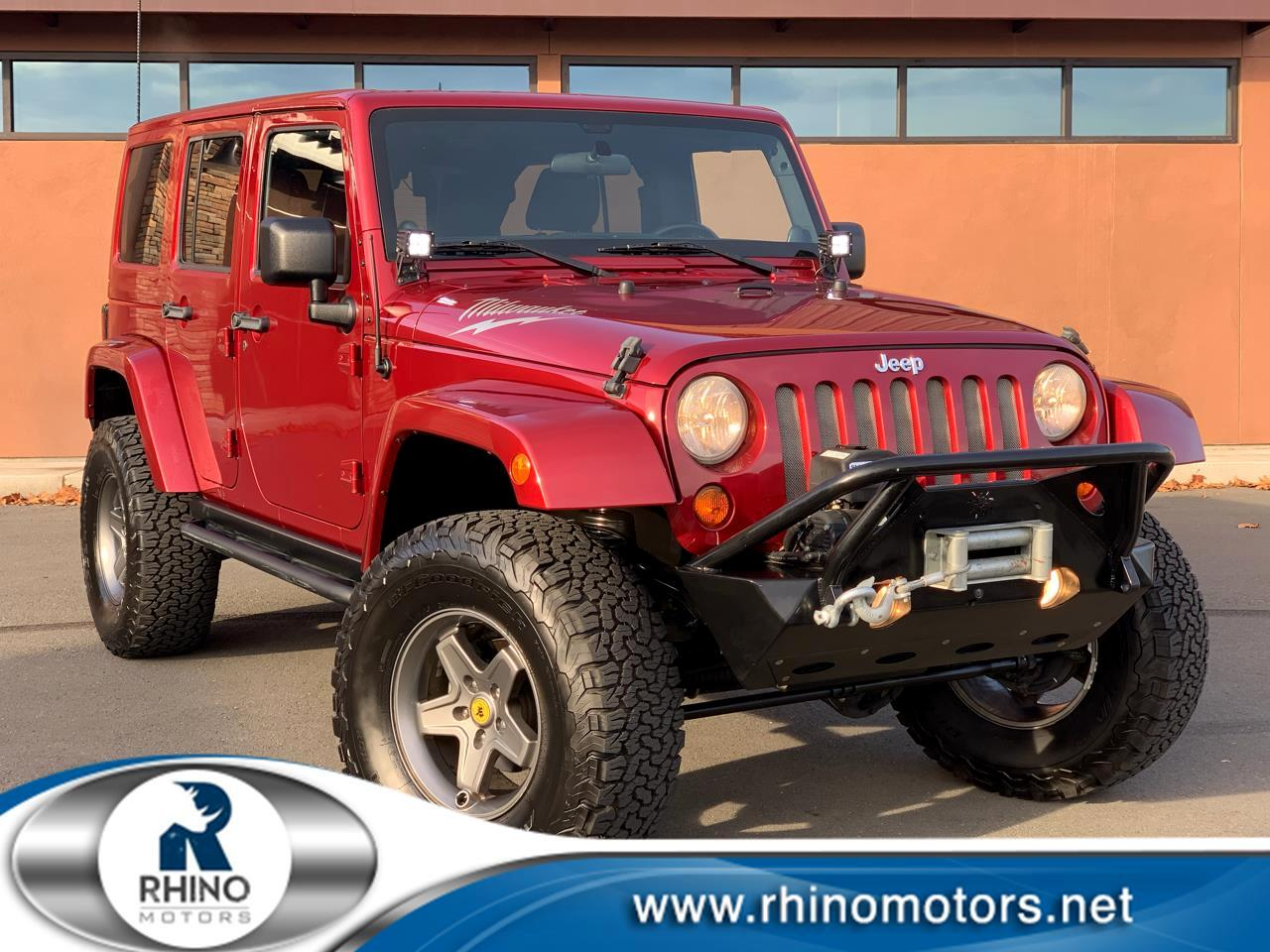 Jeep Wrangler Unlimited 4WD 4dr Rubicon 2012