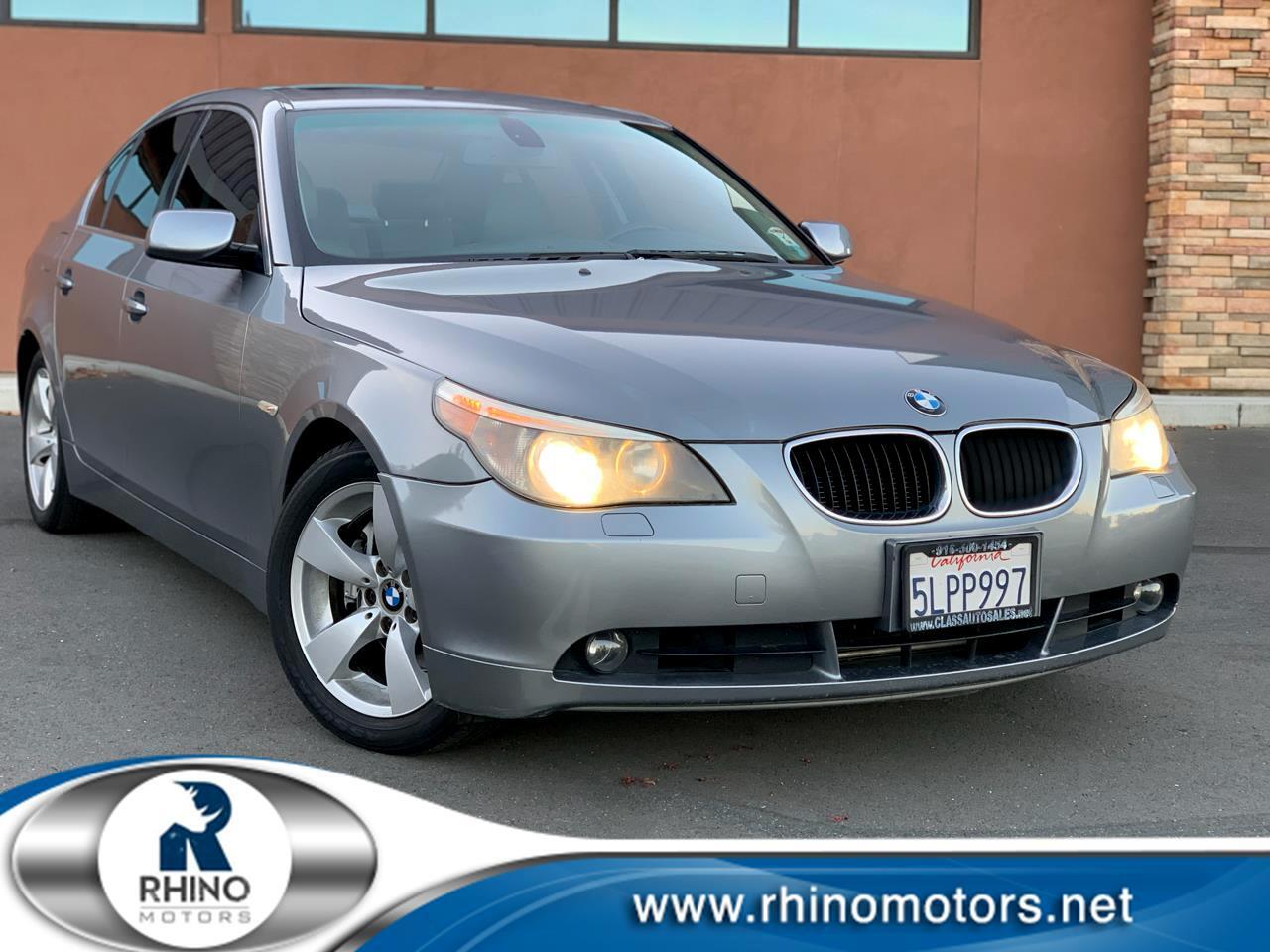 BMW 5 Series 525i 4dr Sdn 2005