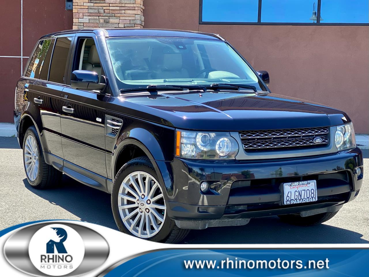 Land Rover Range Rover Sport 4WD 4dr HSE 2010