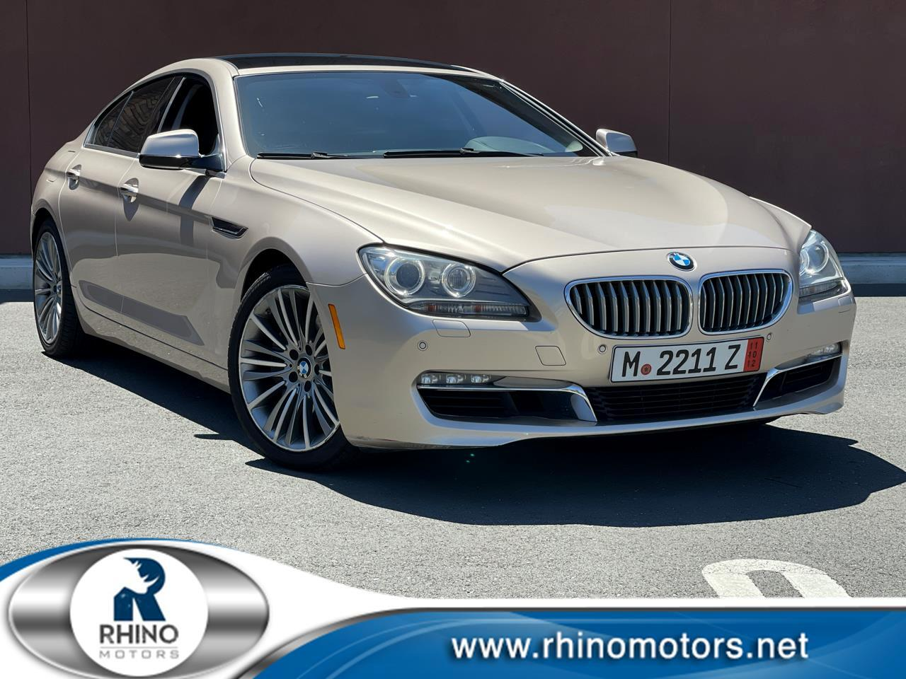 BMW 6 Series 4dr Sdn 650i xDrive Gran Coupe 2013