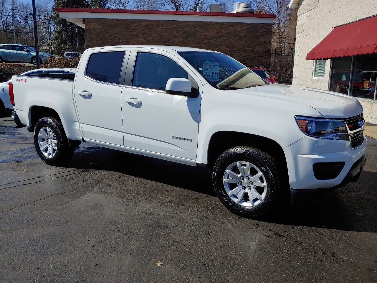 "Chevrolet Colorado 4WD Crew Cab 140.5"" LT 2019"