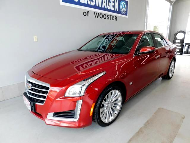 Cadillac CTS Sedan 4dr Sdn 2.0L Turbo Luxury Collection AWD 2016