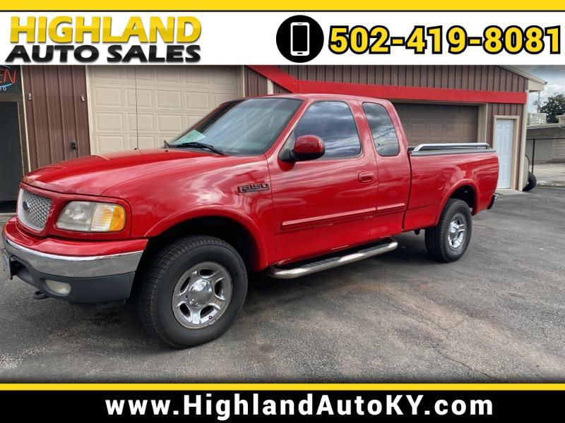 """Ford F-150 4WD SuperCab 145"""" Lariat 1999"""