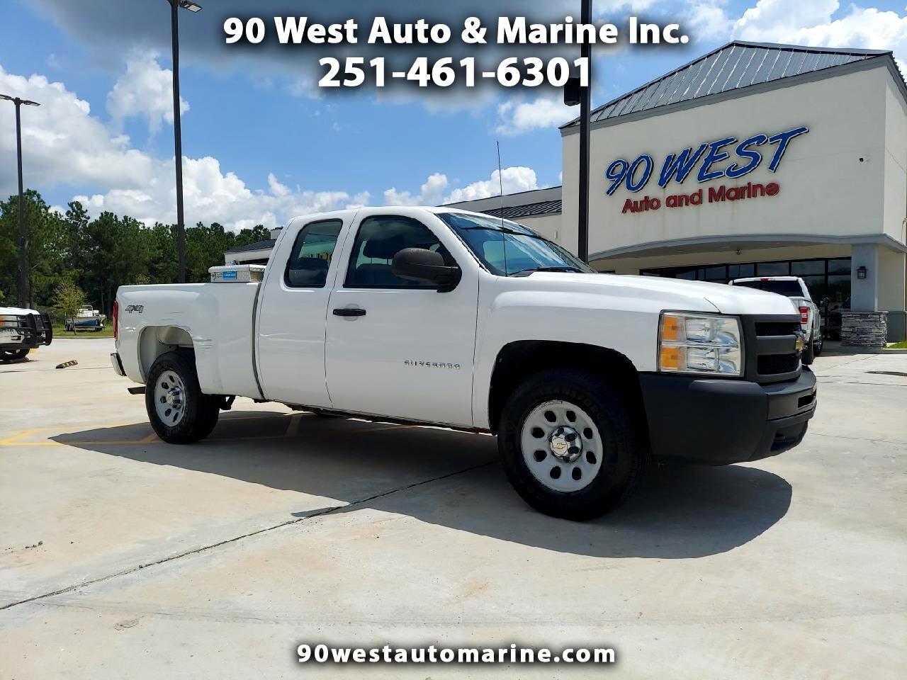 Chevrolet Silverado 1500 Work Truck Ext. Cab 4WD 2011