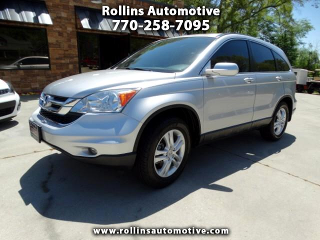 2011 Honda CR-V EX-L 2WD 5-Speed AT with Navigation