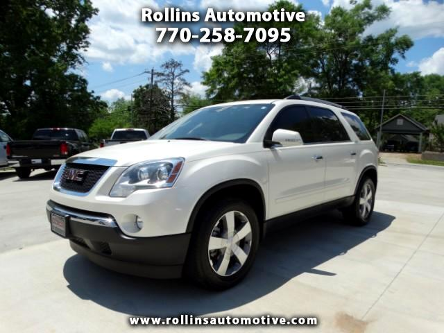 2012 GMC Acadia SLT NAV DVD SUNROOF PWR LIFTGATE