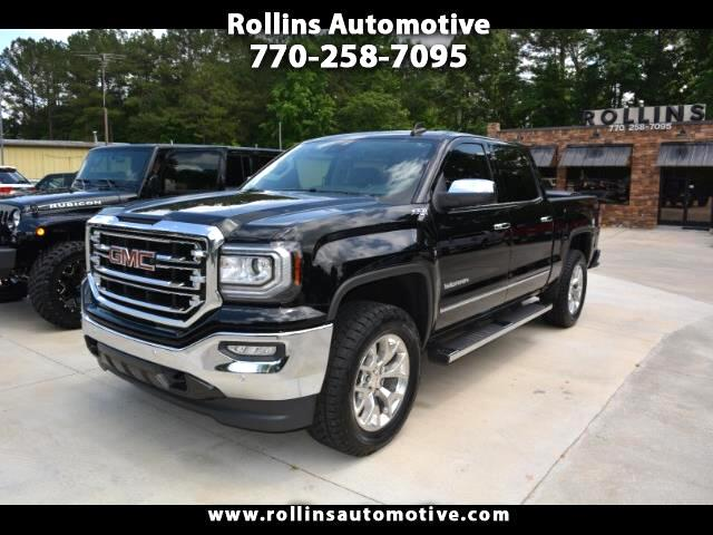 2017 GMC Sierra 1500 SLT Crew 4WD Navigation Sunroof Heated/Cooled Seat