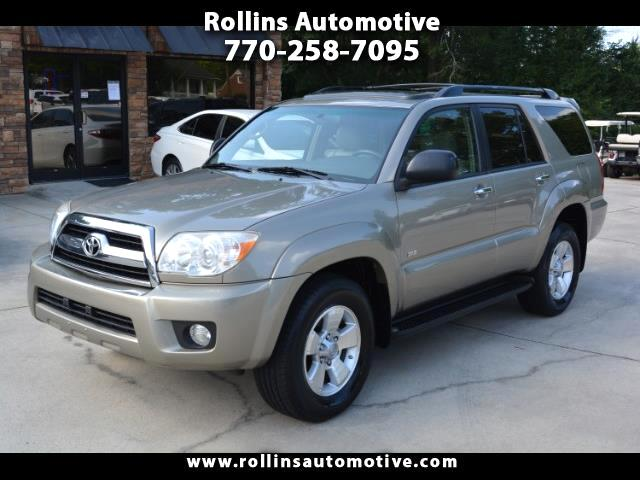 2006 Toyota 4Runner SR5 2WD Leather  and Sunroof