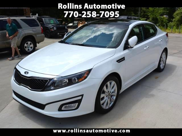 2015 Kia Optima EX Leather Pano Roof