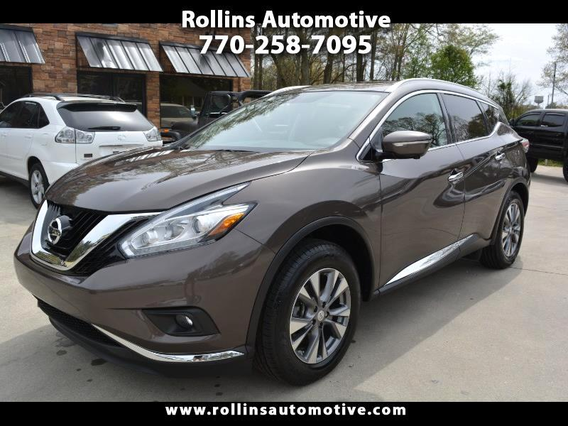 2015 Nissan Murano 4dr SL FWD V6