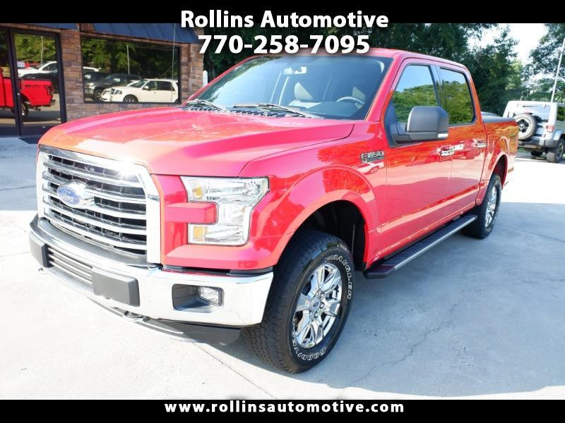 2016 Ford F-150 4x4 SuperCrew XLT w/ FX4