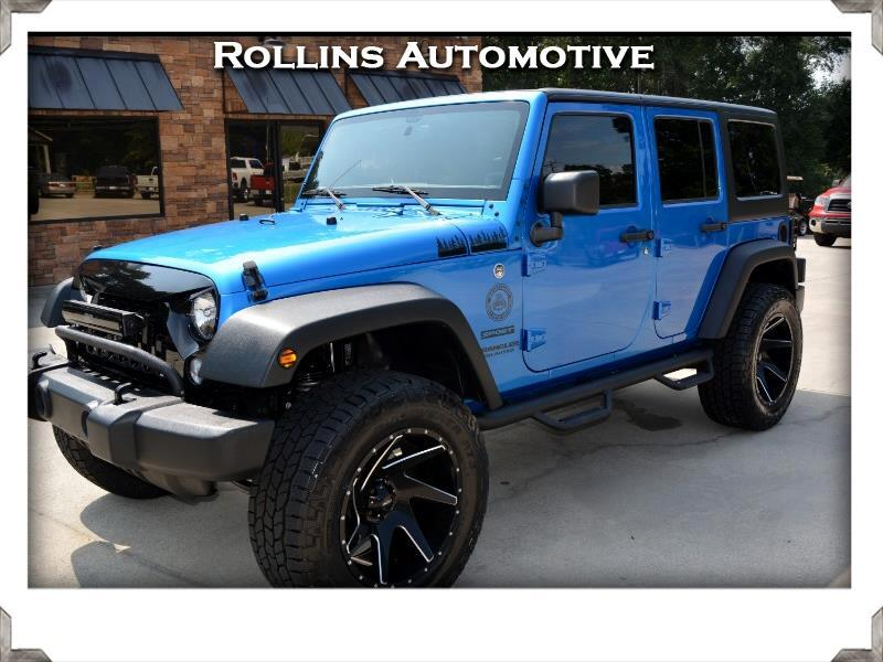 2015 Jeep Wrangler Unlimited Sport 4WD