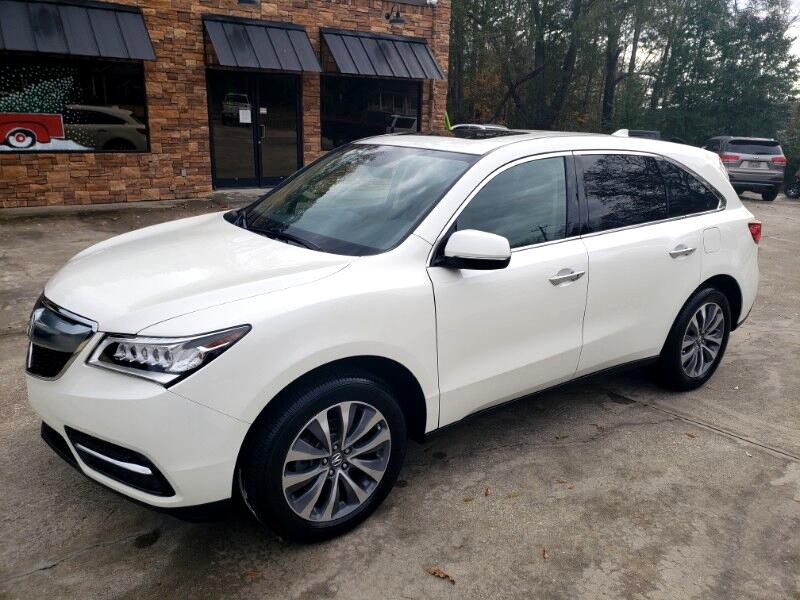 Acura MDX FWD 4dr w/Tech/Entertainment/AcuraWatch Plus 2016