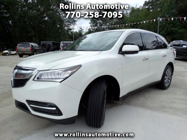 Acura MDX SH-AWD 6-Spd AT w/Tech Package 2015