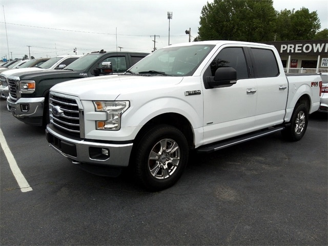 "Ford F-150 4WD SuperCrew 139"" FX4 2015"