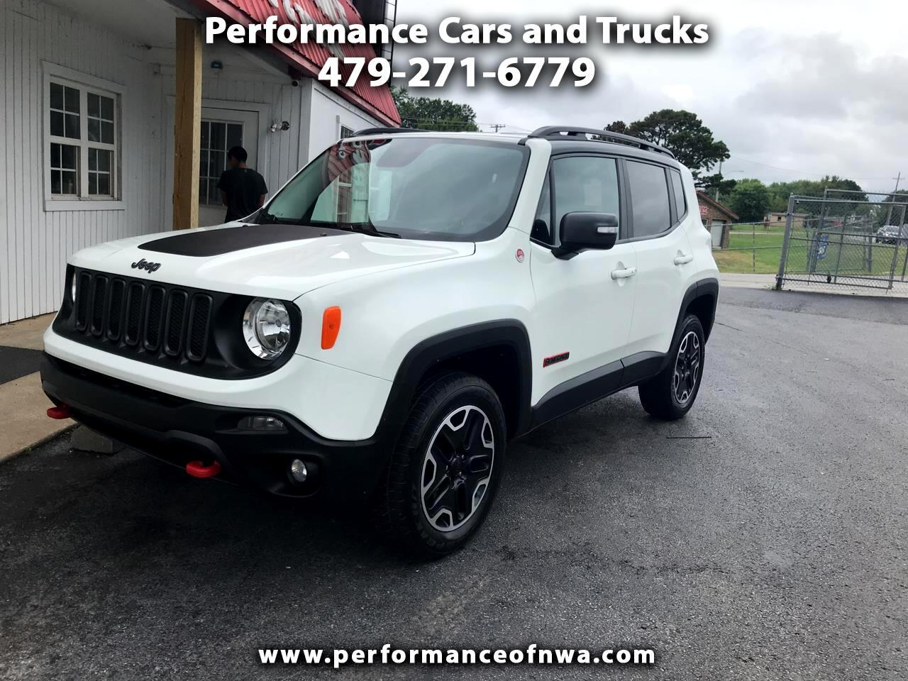 2017 Jeep Renegade 4WD 4dr Trailhawk