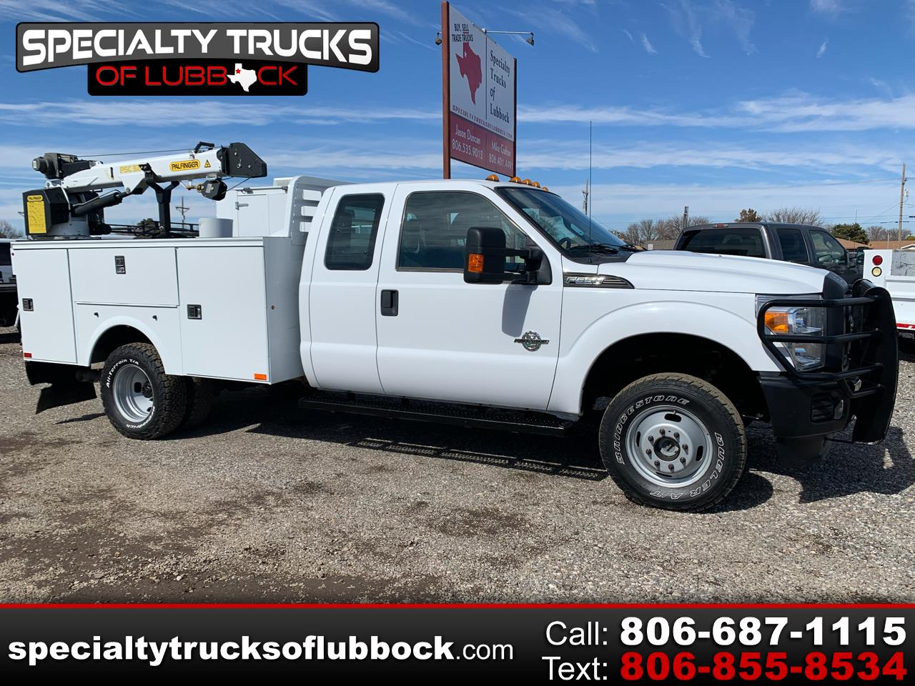 Ford F-350 SD XL SuperCab 4WD DRW 2014