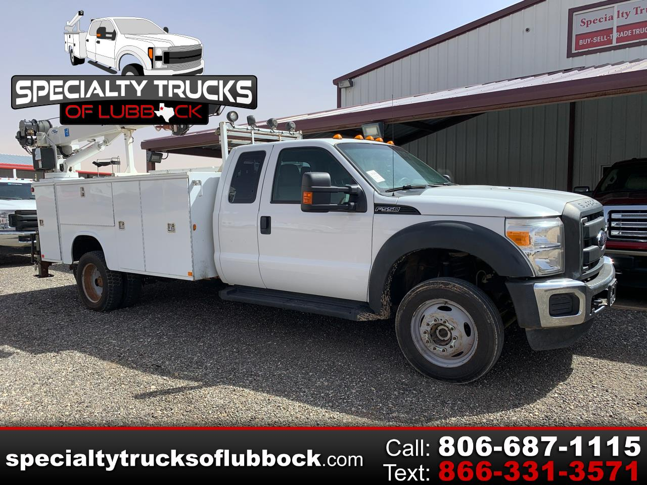 "Ford Super Duty F-550 DRW 4WD SuperCab 186"" WB 84"" CA XL 2012"