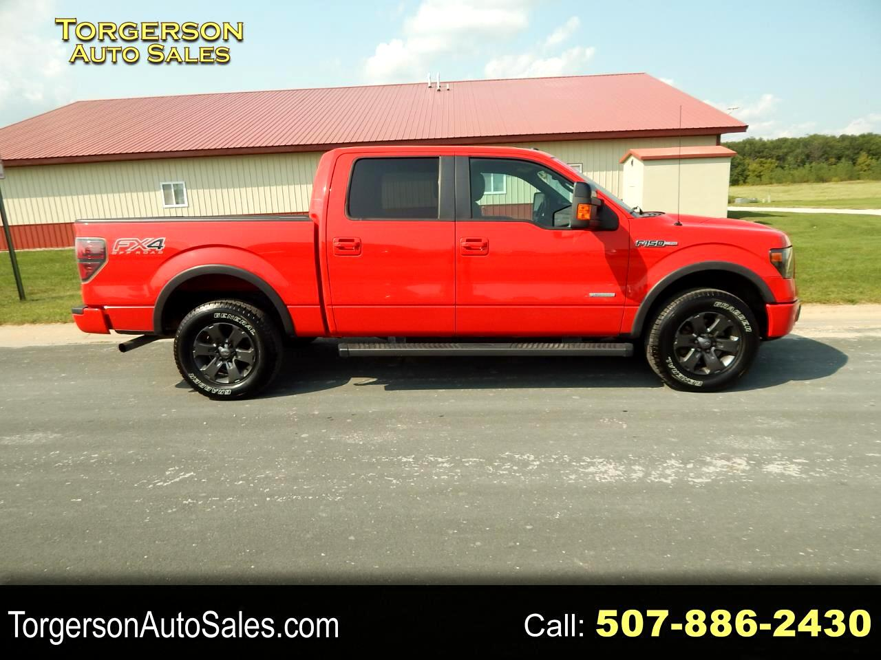 """Ford F-150 4WD SuperCrew 139"""" FX4 2013"""
