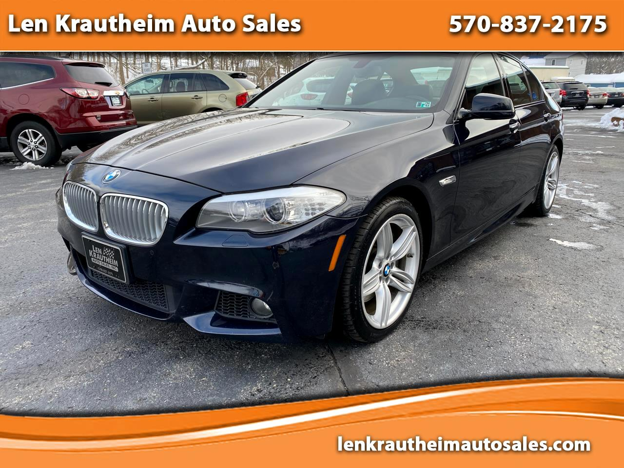 BMW 5-Series 550i xDrive 2013