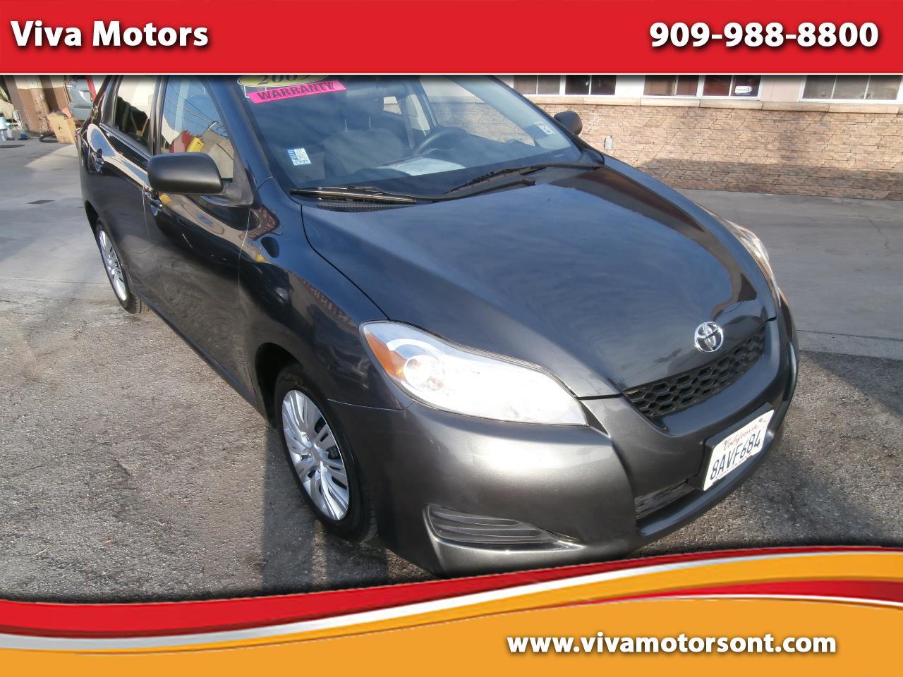 Toyota Matrix 5dr Wgn Auto FWD (Natl) 2009