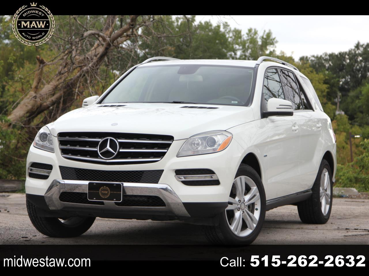 used 2012 mercedes benz m class ml350 4matic for sale in des moines ia 50317 midwest auto world llc des moines ia 50317 midwest auto