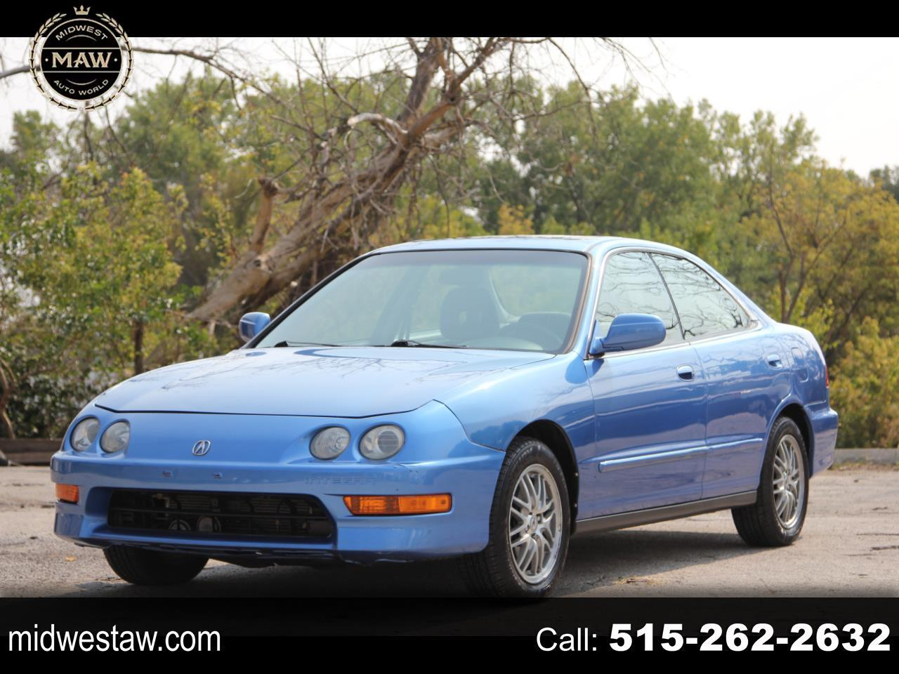 Used 2000 Acura Integra Ls Sedan For Sale In Des Moines Ia 50317 Midwest Auto World Llc